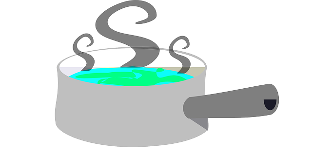 boiling water scald