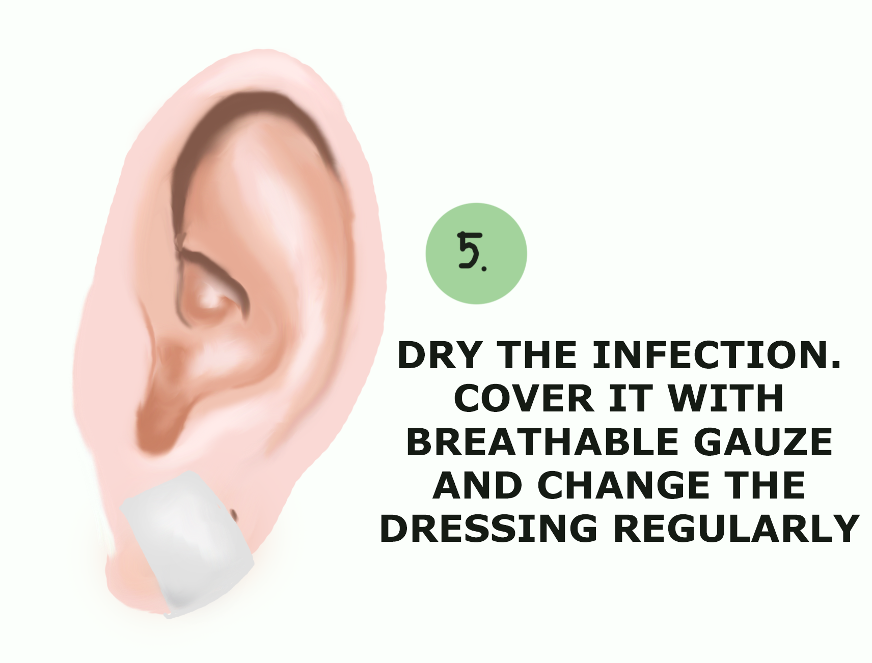 How to drain infected ear piercing - Wound Care Society