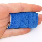 What type of wound is tetanus associated with?