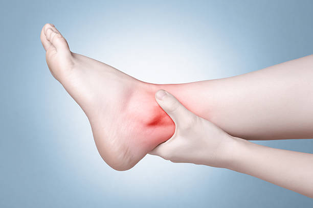 does plantar fasciitis cause ankle pain? - wound care society, Skeleton